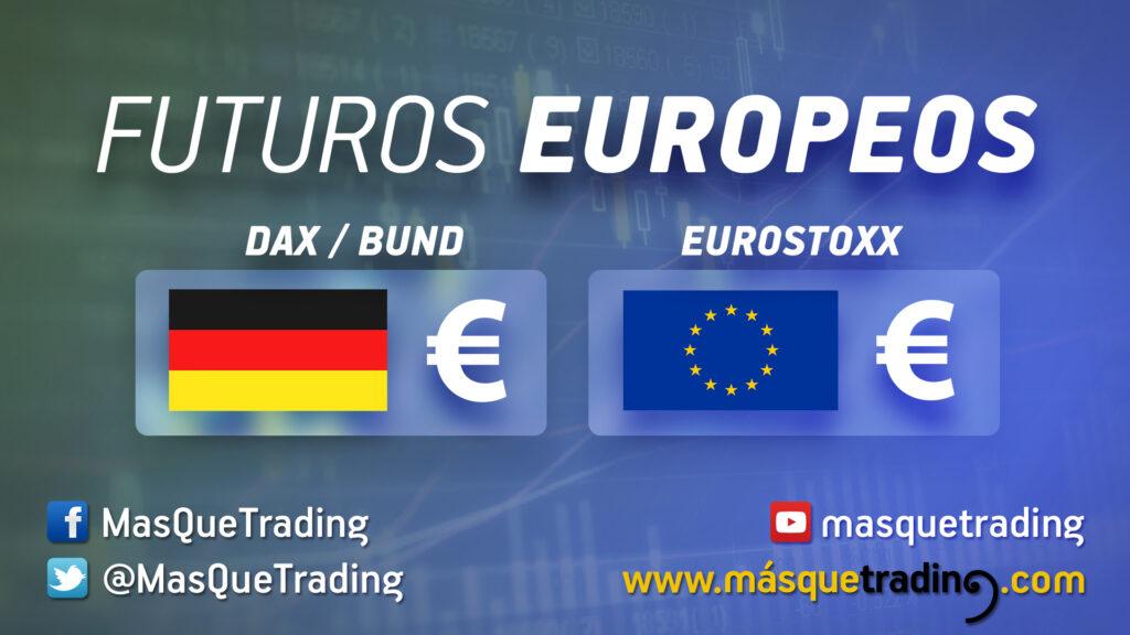 Situación y opciones para Dax, Euro Stoxx 50 y Bund
