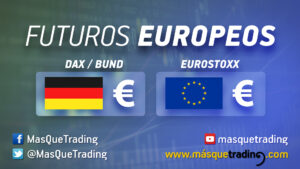 futuros del Dax, Eurostoxx y Bund